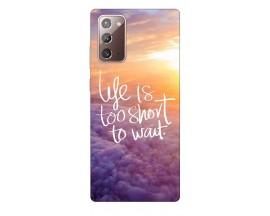 Husa Silicon Soft Upzz Print Samsung Galaxy Note 20 Model Life