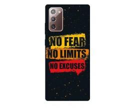Husa Silicon Soft Upzz Print Samsung Galaxy Note 20 Model No Fear