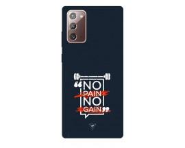 Husa Silicon Soft Upzz Print Samsung Galaxy Note 20 Model Pain