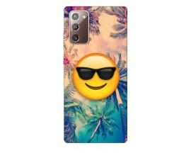 Husa Silicon Soft Upzz Print Samsung Galaxy Note 20 Model Smile