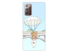 Husa Silicon Soft Upzz Print Samsung Galaxy Note 20 Model Three Bears