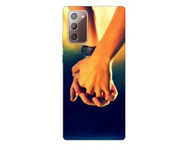 Husa Silicon Soft Upzz Print Samsung Galaxy Note 20 Model Together