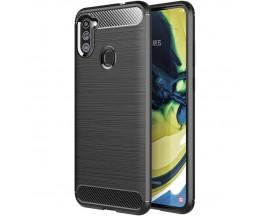 Husa Spate Upzz Carbon Pro Samsung Galaxy M11 , Negru