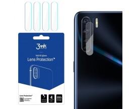 Folie Sticla Nano Glass 3mk Pentru Camera Oppo A91, 4 Buc In Pachet