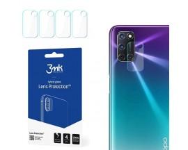 Folie Sticla Nano Glass 3mk Pentru Camera Oppo A72, 4 Buc In Pachet