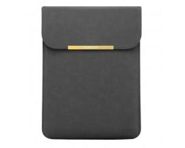 Husa Premium Upzz Tech Protect Sleeve Taigold Pentru Laptop 13-14 Inch ,macbook Air 13 Inch, Gri Inchis