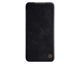Husa Flip Cover Book Premium Nillkin Qin Compatibila Cu Xiaomi Redmi Note 8 Pro , Negru