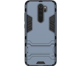 Husa Spate Upzz Kickstand Armor Hybrid Compatibila Cu Xiaomi Redmi Note 8 Pro ,albastru
