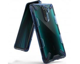 Husa Premium Ringke Fusion X Compatibila Cu Xiaomi Redmi Note 8 Pro ,albastru