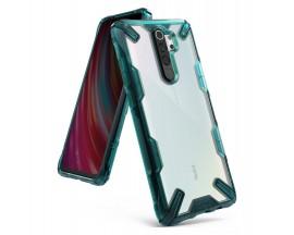 Husa Premium Ringke Fusion X Compatibila Cu Xiaomi Redmi Note 8 Pro ,verde