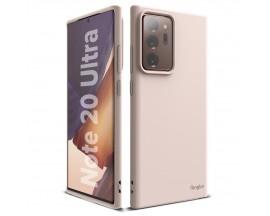 Husa Premium Ringke Air S Pentru Samsung Galaxy Note 20 Ultra ,slim ,silicon, Roz