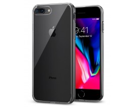 Husa Spigen Liquid Crystal iPhone 7 Plus / 8 Plus Transparenta ,silicon