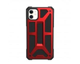 Husa Premium Originala Uag Armor Monarch iPhone 11 ,Rosu
