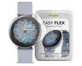 Folie Ringke Easy Flex Compatibila Cu Samsung Galaxy Watch Active 1/2 ( 44mm) ,transparenta,3 Bucati In Pachet