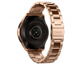 Curea Ceas Spigen Moder Fit Stainless Compatibila Cu Samsung Galaxy Watch 42mm , Rose Gold