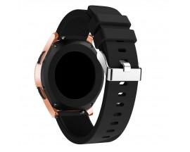 Curea Ceas Upzz Tech Smoothband Compatibila Cu Samsung Galaxy Watch 42mm , Silicon ,negru