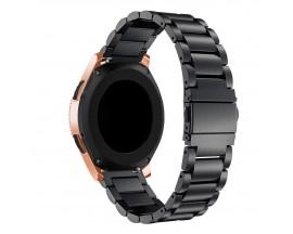 Curea Ceas Upzz Tech Stainless Compatibila Cu Samsung Galaxy Watch 46mm ,Negru