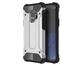 Husa Spate Ultra Rezistenta Anti Shock Upzz Armor Compatibila Cu Samsung Galaxy S9 ,Silver