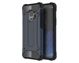 Husa Spate Ultra Rezistenta Anti Shock Upzz Armor Compatibila Cu Samsung Galaxy S9 ,Blue