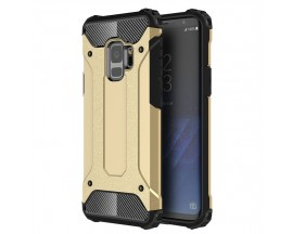 Husa Spate Ultra Rezistenta Anti Shock Upzz Armor Compatibila Cu Samsung Galaxy S9 ,Gold