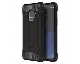 Husa Spate Ultra Rezistenta Anti Shock Upzz Armor Compatibila Cu Samsung Galaxy S9 ,Negru