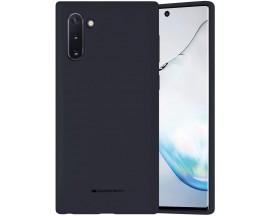 Husa Spate Mercury  Silicone Samsung Galaxy Note 10 ,Cu Interior Alcantara ,Navy Albastru