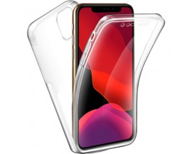 Husa 360 Grade Full Cover Upzz Case Silicon iPhone 11 Pro Transparenta