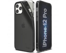 Husa Premium Ringke Air iPhone 12 / iPhone 12 Pro  ,Silicon ,Slim ,Fumurie
