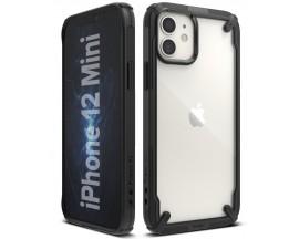 Husa Premium Ringke Fusion X Compatibila Cu iPhone 12 Mini Negru