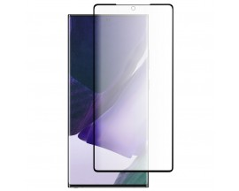 Folie Full Cover Nano Glass Flexible Bestsuit Samsung Galaxy Note 20 ,Transparenta Cu Margine Neagra -Merge Amprenta