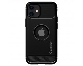 Husa Premium Originala Spigen Rugged Armor iPhone 12 Mini .Negru - ACS01743