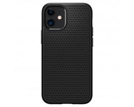 Husa Premium Spigen Liquid Air Compatibila Cu iPhone 12 Mini ,Negru - ACS01744