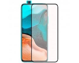 Folie Sticla Full Cover Full Glue Upzz Compatibila Cu Xiaomi Poco F2 Pro , Cu Adeziv Pe Toata Suprafata Foliei Neagra