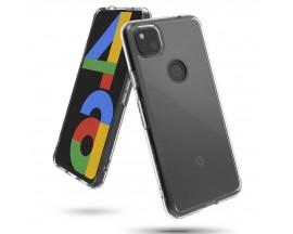 Husa Premium Ringke Fusion Compatibila Cu Google Pixel 4a ,transparenta Crystal Clear