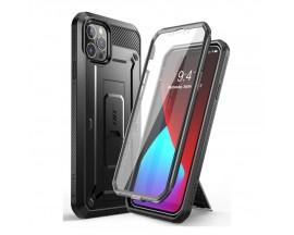 Husa Premium 360 Grade iPhone 12 Pro Max Unicorn Beetle Pro Negru