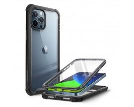 Husa Premium Originala 360 Grade Supcase Iblason Ares iPhone 12 Pro Max Negru