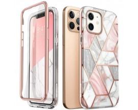 Husa Premium Originala 360 Grade Supcase Cosmo iPhone 12 / iPhone 12 Pro   Marble