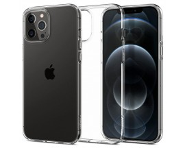 Husa Premium Spigen Liquid Crystal  iPhone 12 / iPhone 12 Pro ,transparenta - Acs01697
