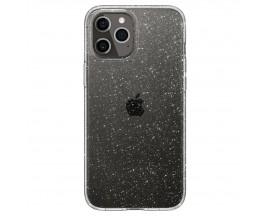 Husa Premium Spigen Liquid Crystal Glitter  iPhone 12 / iPhone 12 Pro ,transparenta -  Acs01698