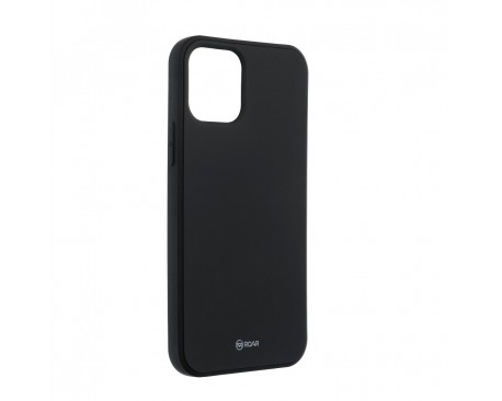 Husa Spate Roar Jelly iPhone 12 / iPhone 12 Pro ,Silicon - Negru