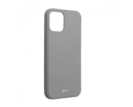 Husa Spate Roar Jelly iPhone 12 / iPhone 12 Pro ,Silicon - Gri
