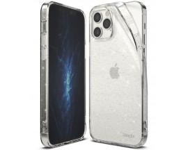 Husa Premium Ringke Air  Pentru iPhone 12 / iPhone 12 Pro Glitter -transparent