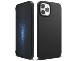 Husa Premium Ringke Air S Pentru iPhone 12 / iPhone 12 Pro  ,silicon , Negru