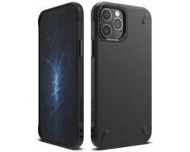 Husa Premium Ringke Onyx Pentru iPhone 12 / iPhone 12 Pro  ,silicon , Negru