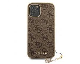 Husa Premium Originala Guess  iPhone 12 / iPhone 12 Pro   ,colectia Charm Maro - Guhcp12mgf4gbr