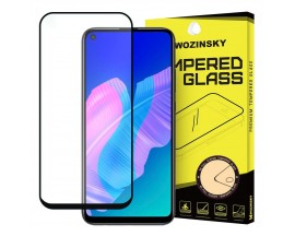 Folie Sticla 5d Wozinsky Tough Screen Full Glue Pentru  Huawei  P40 Lite E ,transparenta Cu Margini Negre