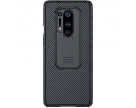 Husa Premium Nillkin Cam Shield Pentru OnePlus 8 Pro ,Negru - Protectie la Camera