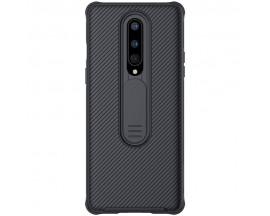 Husa Premium Nillkin Cam Shield Pentru OnePlus 8 ,Negru - Protectie la Camera