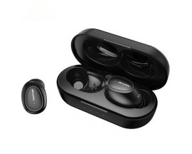 Casti Audio Wireless Awei ,versiune Bluetooth 5.0 ,carcasa Cu Functie De Incarcare ,negre -t16