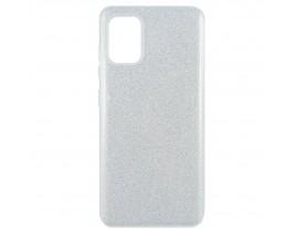 Husa Spate Upzz Shiny Lux Samsung Galaxy A51 , Silver